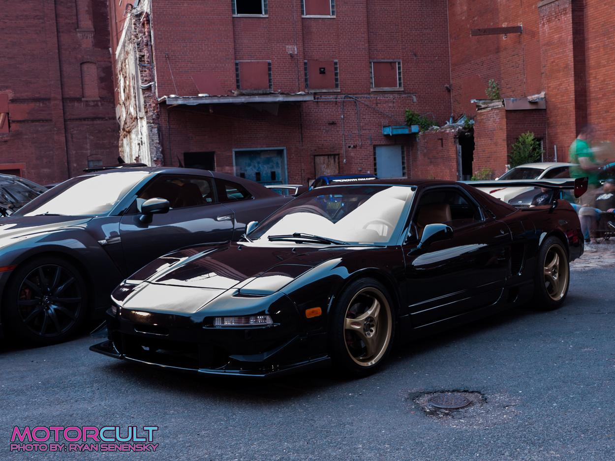 black NSX front1250