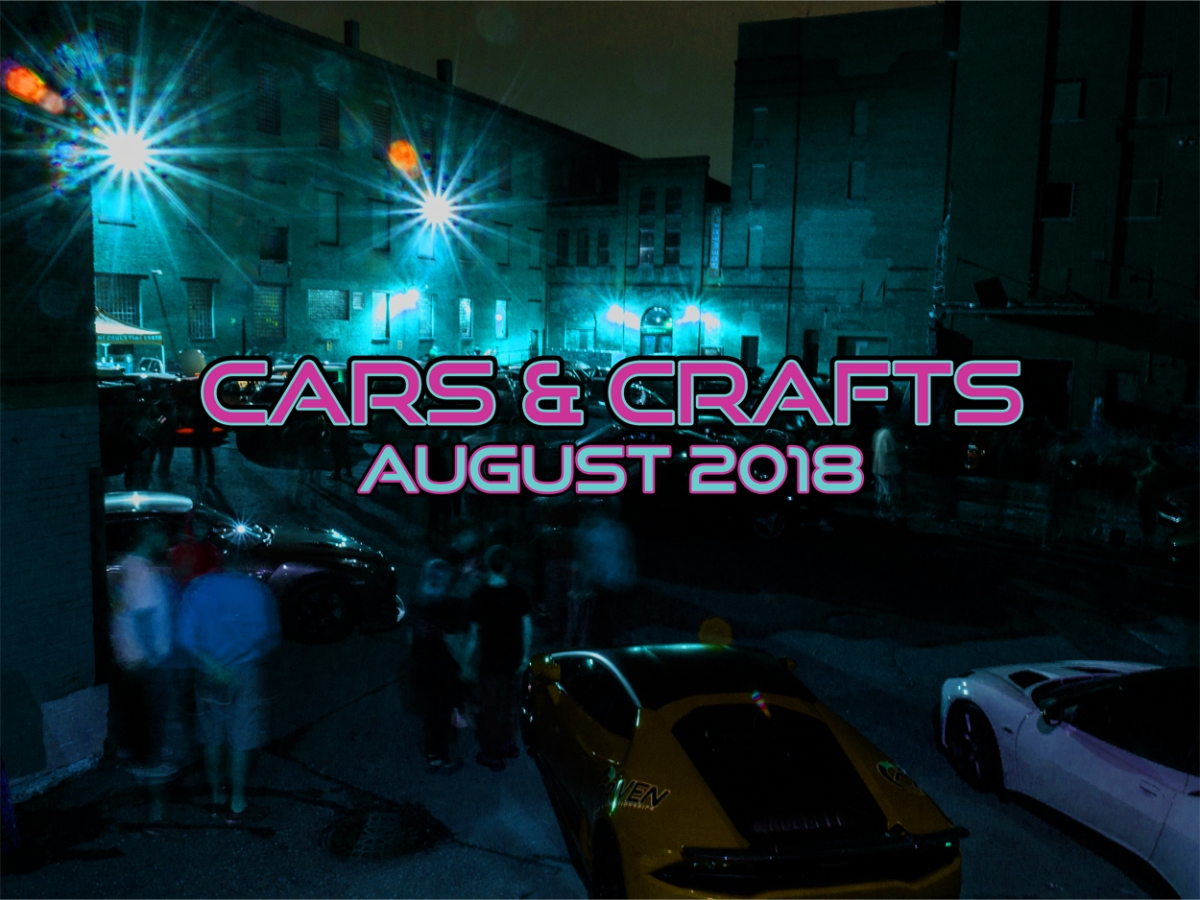 EVENT: CARS & CRAFTS AUGUST2018