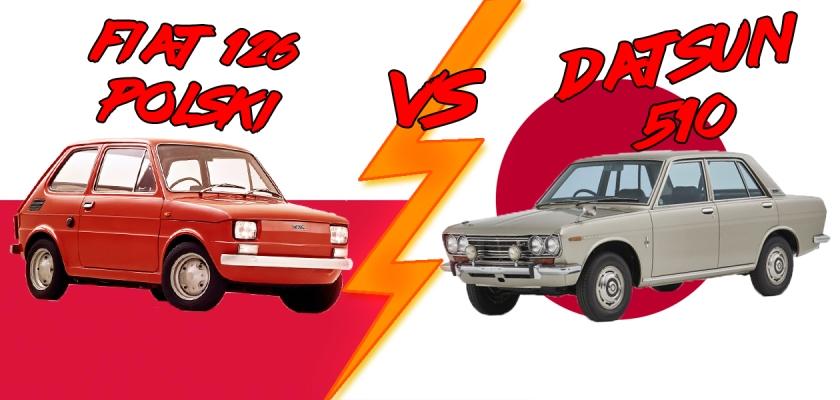 Fiat 126p vs Datsun 510