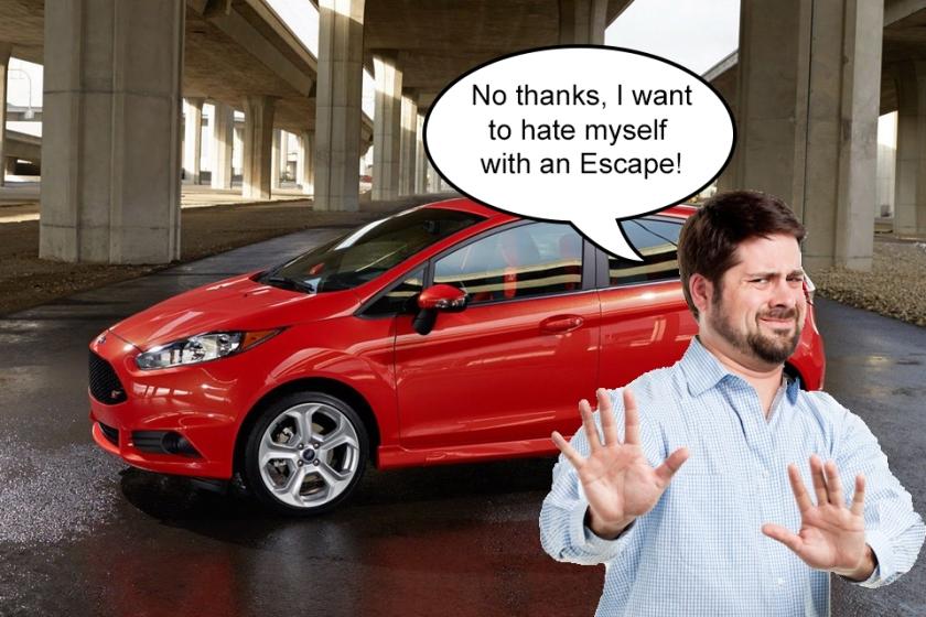 No Thanks Fiesta ST