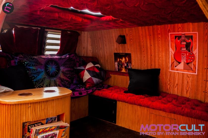 Orange Dodge Interior