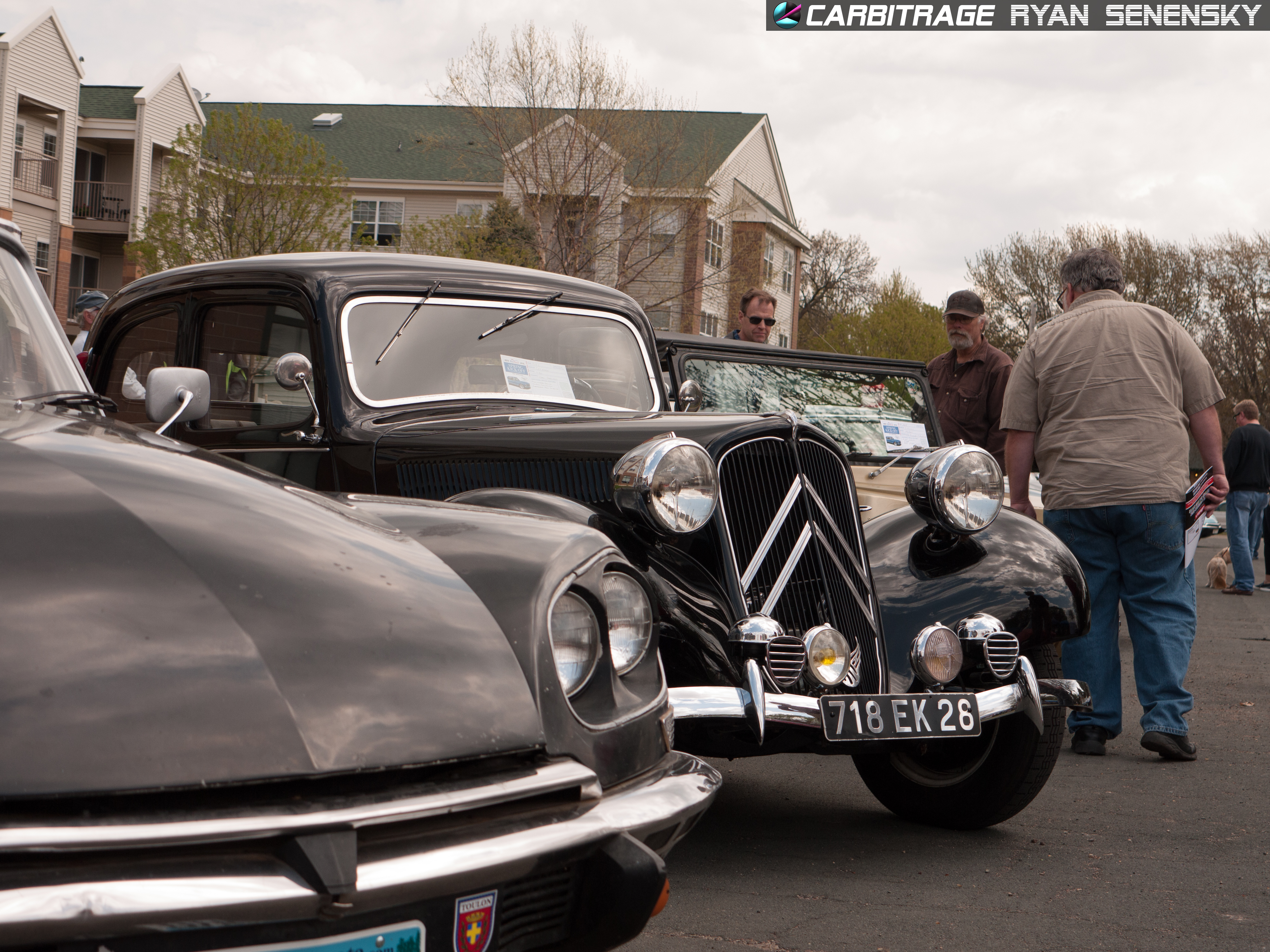 Citroen DS and Traction Avant