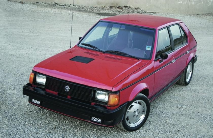 Dodge Omni GLH red