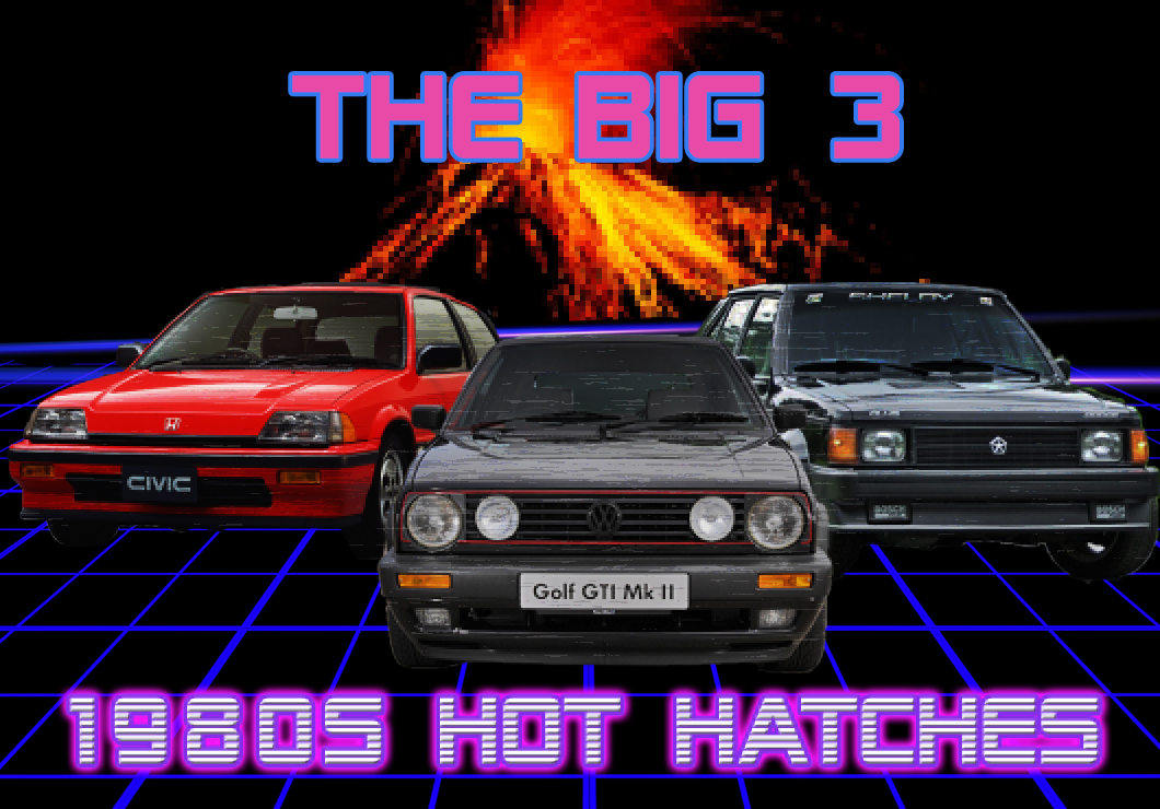 The Big 3 1980s hot hatches