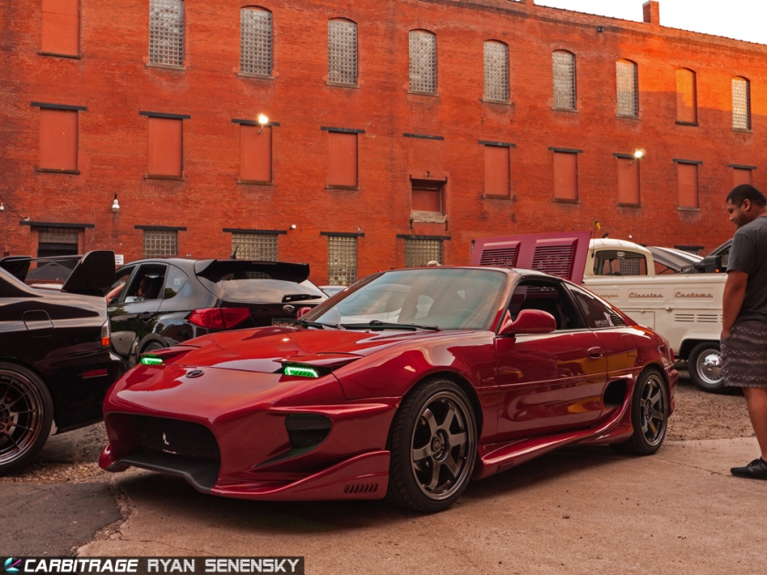 SW20 MR2 Red