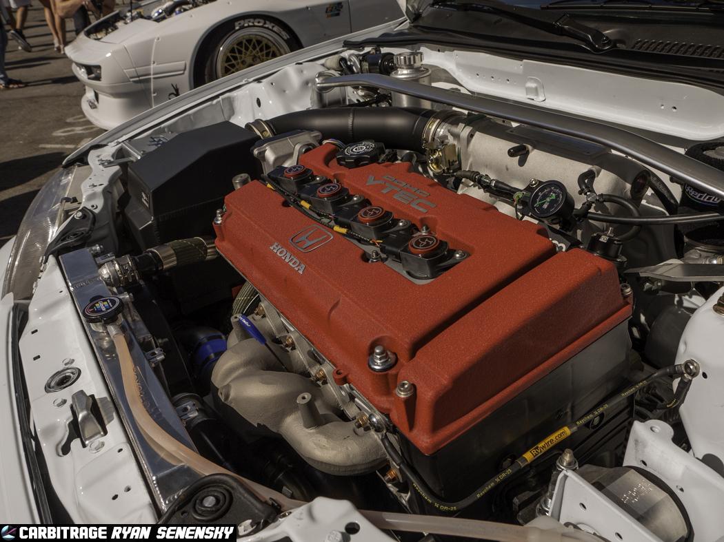 Greddy EF Civic Hatchback Engine