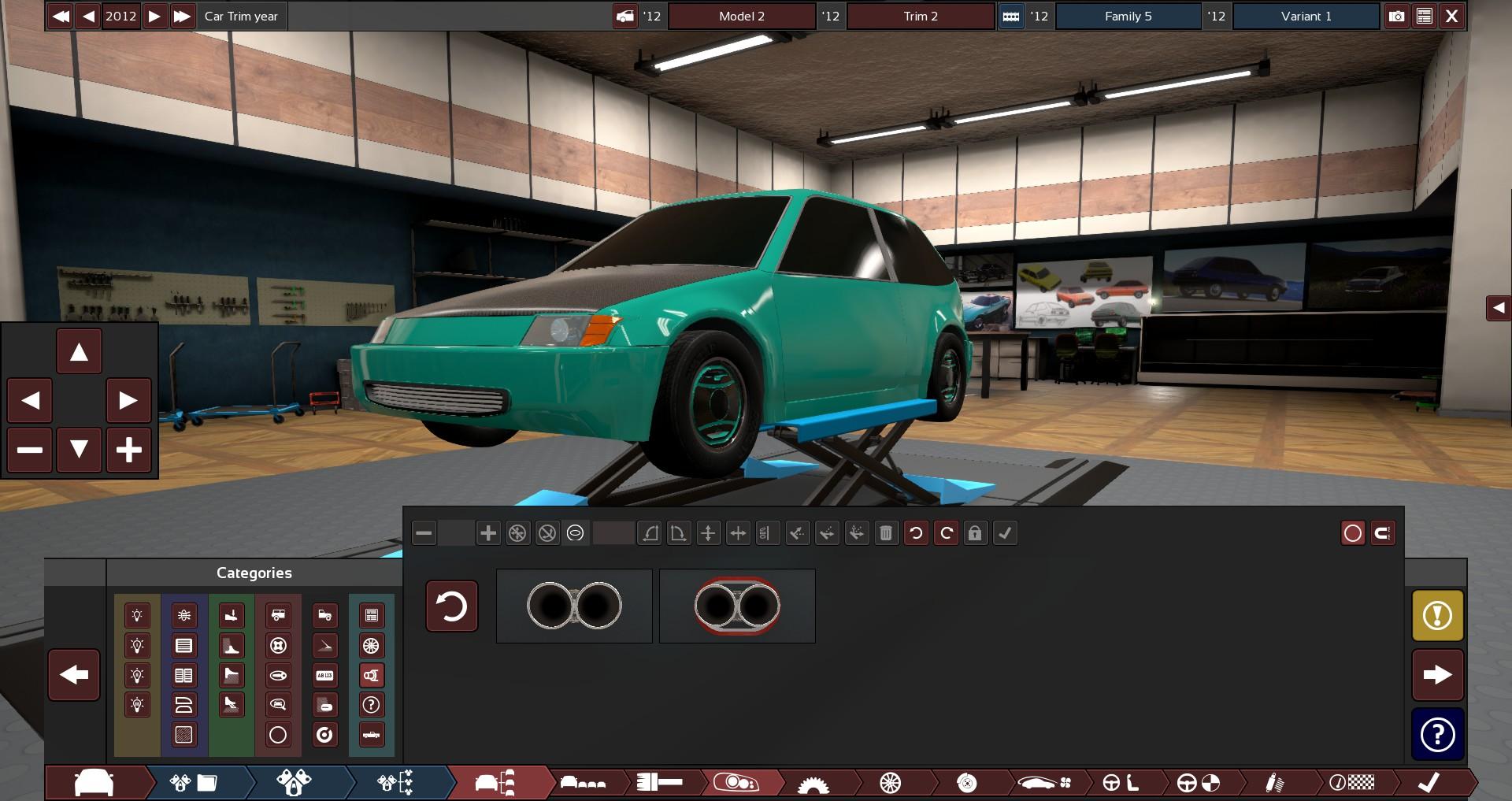 Carbitrage Automation 80s Hatchback Green