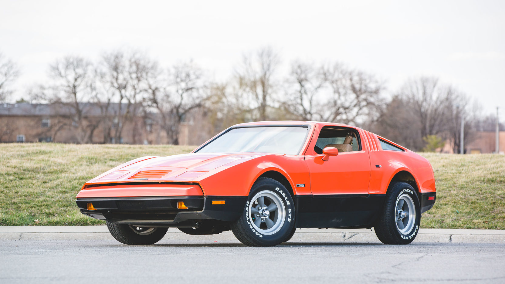 Bricklin SV1 Safety Red