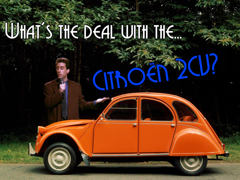 whats the deal with the 2cv