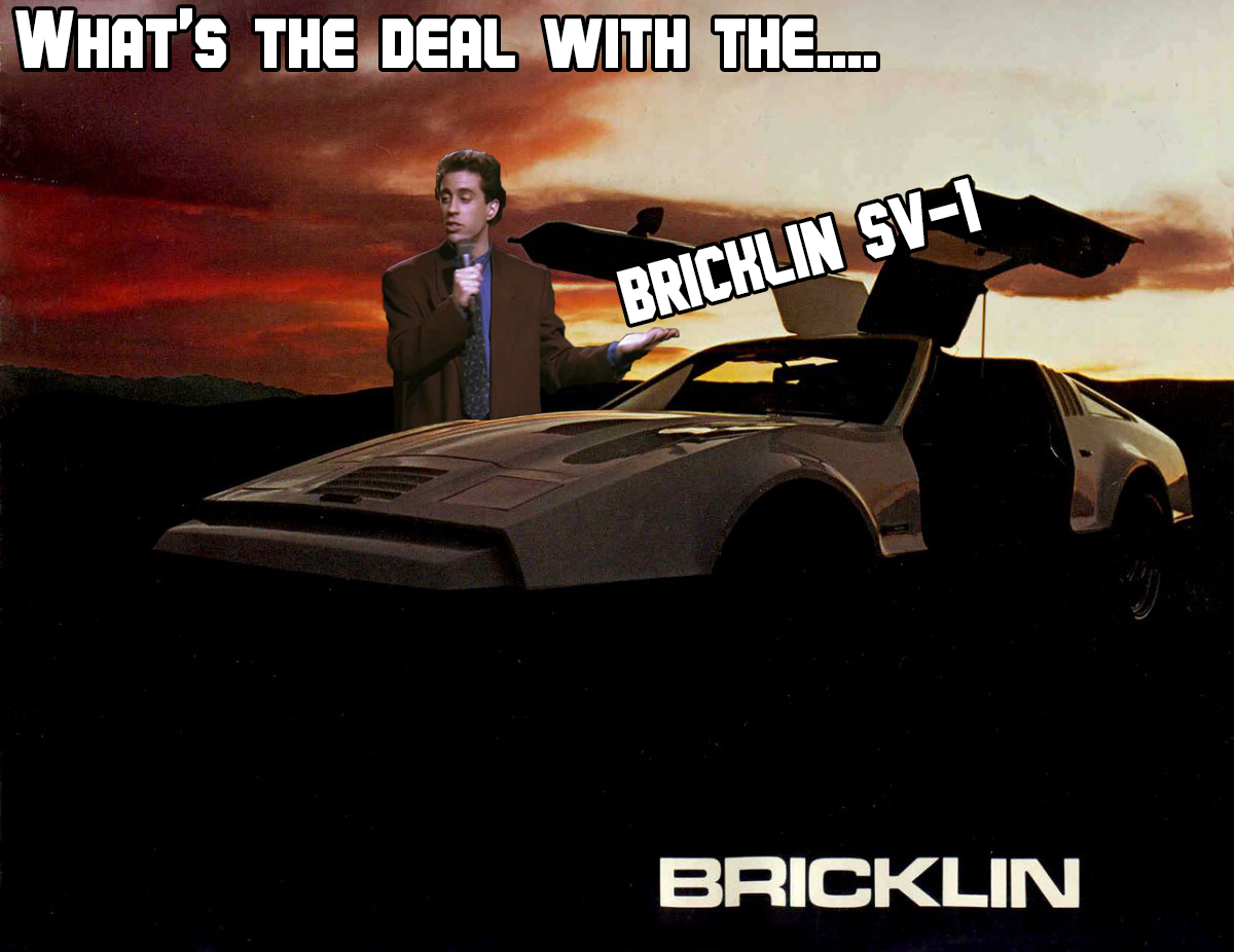 What's the deal with the BricklinSV-1?